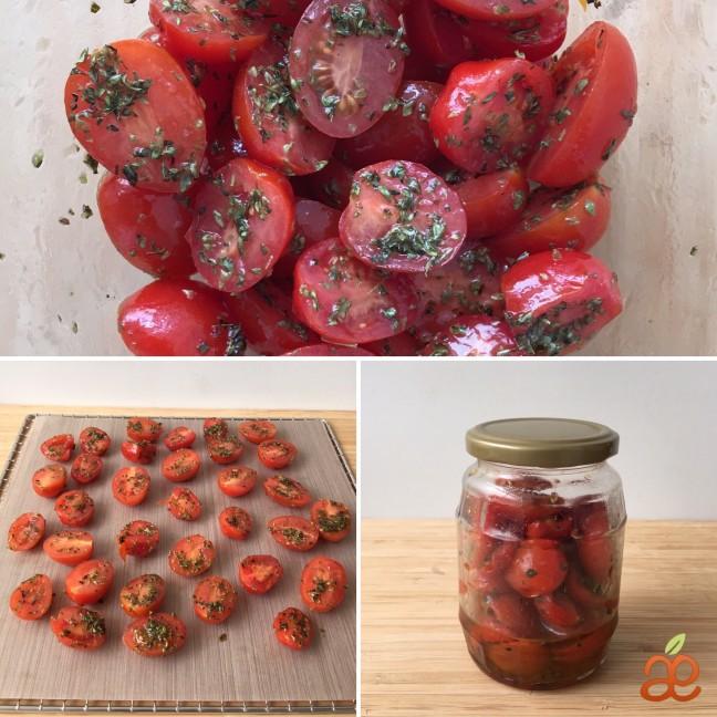 tomates semideshidratados